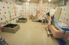 通所リハ浴室